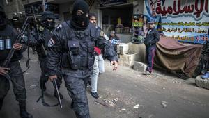 عناصر من القوات الخاصة في الشرطة المصرية
