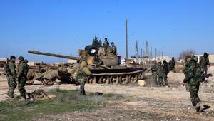 """سوريا: جيش النظام يدخل تدمر ويستعد لـ""""تطهير"""" المدينة من داعش"""