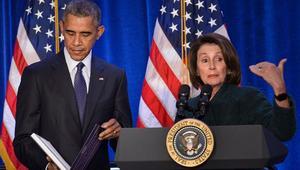 زعيمة الديمقراطيين في مجلس النواب: أوباما لم يضغط لمنع تجاوز الفيتو ضد قانون 11 سبتمبر