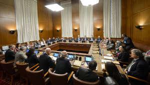 """واشنطن تدعو السوريين إلى الاستمرار في محادثات جنيف.. والسعودية وتركيا تدعمان المعارضة """"سواء استمرت أو غادرت"""""""