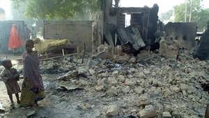 """نيجيريا: مقتل 46 شخصا على يد """"بوكو حرام"""" والسكان يختبؤون في الأدغال بينما تحترق بيوتهم"""