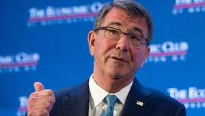 """كارتر: نرحب بعرض السعودية المشاركة بقوات برية في الحرب ضد """"داعش"""" وسنناقشه في بروكسل قريبا"""