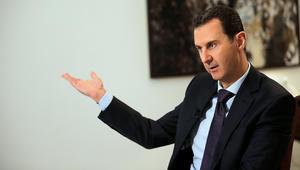 """الأسد: أردوغان يلعب دور """"المتسول السياسي"""" والغرب يعيش صراعا وجوديا"""