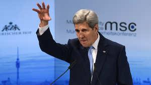 مؤتمر الأمن بميونخ.. كيري وفالس: هجمات روسيا بسوريا ضد المعارضة الشرعية والمدنيين.. وميدفيدف يرد: لا دليل على ذلك