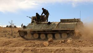 قوات سوريا الديمقراطية تحرز تقدما في منبج بدعم جوي من التحالف الدولي