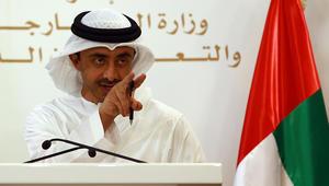 وزير خارجية الإمارات: على قطر وقف تمويل الإرهاب والتدخل بالشؤون الداخلية لجيرانها