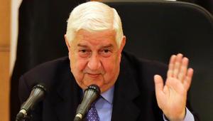 """وليد المعلم: لافروف أحرج أمريكا بملف """"الهدنة"""" أمام مجلس الأمن"""