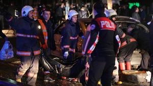 وزير الصحة التركي: ارتفاع عدد ضحايا تفجير أنقرة إلى 34 قتيلا و125 مصابا
