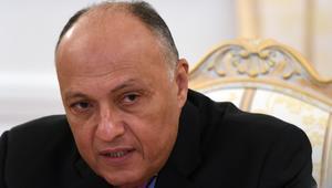 سامح شكري: معسكرات الإرهابيين في ليبيا تهديد مباشر لأمن مصر القومي