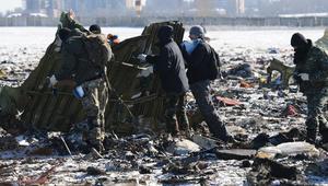 """لجنة الطيران الروسية: أضرار جسيمة بالصندوقين الأسودين لطائرة """"فلاي دبي"""".. وفك شفرة البيانات قد يستغرق شهرا"""
