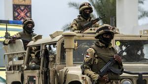 الجيش المصري يعلن مقتل 6 من عناصره بهجوم بالعريش