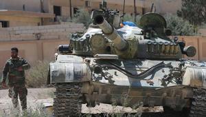 """النظام السوري: """"داعش"""" اختطف أكثر من 300 عامل في شركة أسمنت في ريف دمشق"""