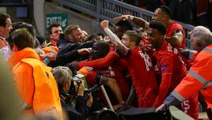 بالصور: ليفربول يقصي دورتموند في لقاء تاريخي