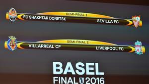 ليفربول يقابل فياريال وإشبيلية يلاقي شختار في الدوري الأوروبي