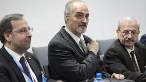 """وفد النظام السوري يقدم """"تعديلات"""" إلى دي ميستورا.. والمعارضة: الأسد يريد الحل العسكري"""