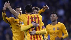برشلونة يمسح أحزانه بثمانية أهداف في مرمى ديبورتيفو