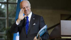 دي ميستورا يعلن استمرار المحادثات السورية في جنيف رغم انسحاب المعارضة