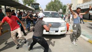 """مصدر أمريكي لـCNN: واشنطن ترسل مزيدا من المارينز إلى سفارتها في بغداد بعد مظاهرات """"المنطقة الخضراء"""""""