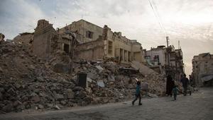 """المرصد السوري: قصف متبادل في حلب بين الجيش والفصائل.. والنظام: """"النصرة"""" وأتباعها ينتهكون التهدئة"""