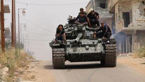 """النظام السوري: مقتل 39 عنصرا من """"النصرة"""" بعد """"مجزرة الزارة"""".. والمرصد: قصف عنيف على القرية بعد سيطرة الجبهة"""