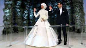 بالفيديو: أردوغان يحتفل بزفاف ابنته سمية في إسطنبول