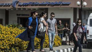 القاهرة: الصندوق الأسود وحطام طائرة مصر للطيران يظهران مؤشرات على تلف بسبب حرارة عالية ودخان