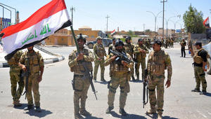الجيش العراقي يصد هجوما لداعش بالرطبة ويبسط سيطرته على الحمدانية