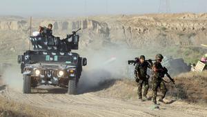 """القوات العراقية تستعيد قرية بالصقلاوية شمال غرب الفلوجة من قبضة """"داعش"""""""