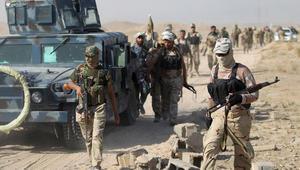 """الحشد الشعبي يسلم معركة وسط الفلوجة للقوات الحكومية ويتعهد بملاحقة داعش """"حتى خارج العراق"""""""