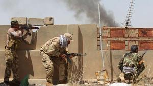 """شاهد.. التحالف الدولي يدمر """"وحدة تكتيكية"""" لداعش قرب الفلوجة.. والدفاع العراقية: فرقة المشاة تتقدم نحو النعيمية"""