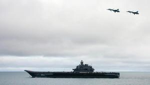 الدفاع الروسي: تحطم طائرة مقاتلة قبالة ساحل سوريا
