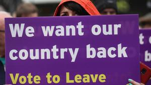 بريطانيا تصوت للخروج من الاتحاد الأوروبي بنسبة 51.89%