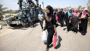 """التحالف الدولي: مقتل قائد عناصر """"داعش"""" في الفلوجة.. والجيش العراقي: إخلاء 760 شخصا هربوا من المدينة"""