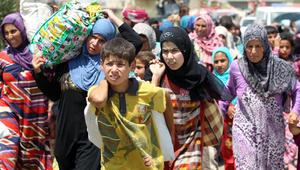 بالصور: أغلب الهاربين نساء وأطفال.. هل يعدم داعش رجال الفلوجة بسبب رفضهم القتال في صفوفه؟