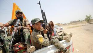 """بالصور: زخم معركة """"تحرير الفلوجة"""".. ووزير الدفاع العراقي يشيد بـ""""الانهيار التام لعصابات داعش"""""""
