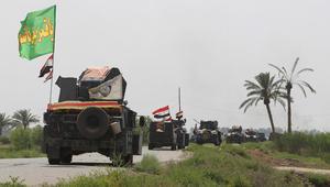 داعش يزعم ببيان منسوب قتل 30 من القوات العراقية شمال الفلوجة.. ومغردون: الجسور العائمة تصل المدينة