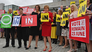 """اسكتلندا تسعى مجددا للاستقلال عن بريطانيا.. وتدعو للتفاوض حول """"حماية مكانها"""" في الاتحاد الأوروبي"""