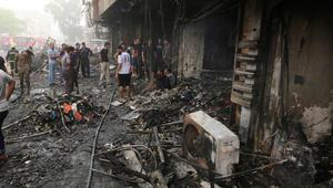 وزارة الصحة العراقية: حصيلة ضحايا تفجير الكرادة ترتفع إلى 250 قتيلًا