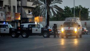 السعودية: استهداف دورية أمنية بقذيفة