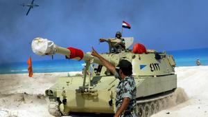 """أمريكا تشارك في تدريبات """"النجم الساطع"""" العسكرية مع مصر لأول مرة منذ الإطاحة بمبارك"""
