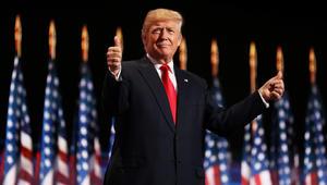 """ترامب: """"حافظ على عظمة أمريكا!"""" شعاري بانتخابات 2020"""