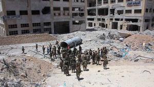 """المحيسني يعلن بدء """"ملحمة حلب الكبرى"""".. والمرصد السوري: اشتباكات عنيفة جنوب غرب المدينة"""