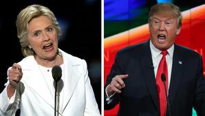 """استطلاع لـ """"فوكس نيوز"""" يظهر تقدّم كلينتون على ترامب بفارق نقطتين"""