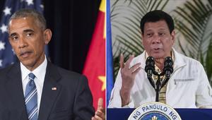 الرئيس الفلبيني يشتم باراك أوباما ثم يتراجع ويعتذر