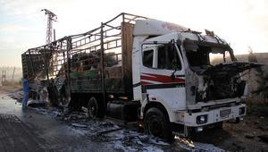 روسيا: طائرة تابعة للتحالف الدولي حلقت قرب قافلة حلب.. والأمم المتحدة تستعد لاستئناف تسليم المساعدات