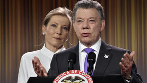 فوز رئيس كولومبيا بجائزة نوبل للسلام