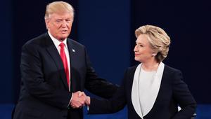 في مواجهة الشعب.. ترامب يهدد بسجن كلينتون