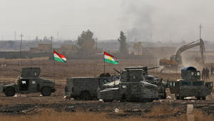 ضابط بالبشمرغة لـCNN: سيطرنا على بعشيقة شمال الموصل