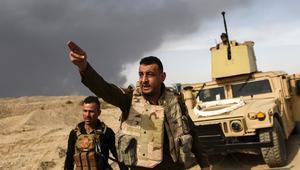 قوات مكافحة الإرهاب العراقية على بعد 900 متر من محيط الموصل.. والعبادي: سنقطع رأس الأفعى في الموصل