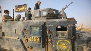 """قوات الحشد الشعبي تعلن تحرير قاعدة تلعفر الجوية من """"داعش"""""""